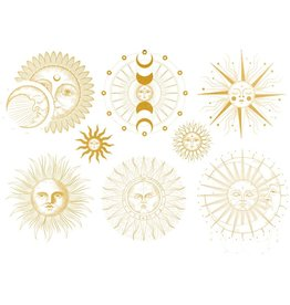 Sanbao Gold sun & moon