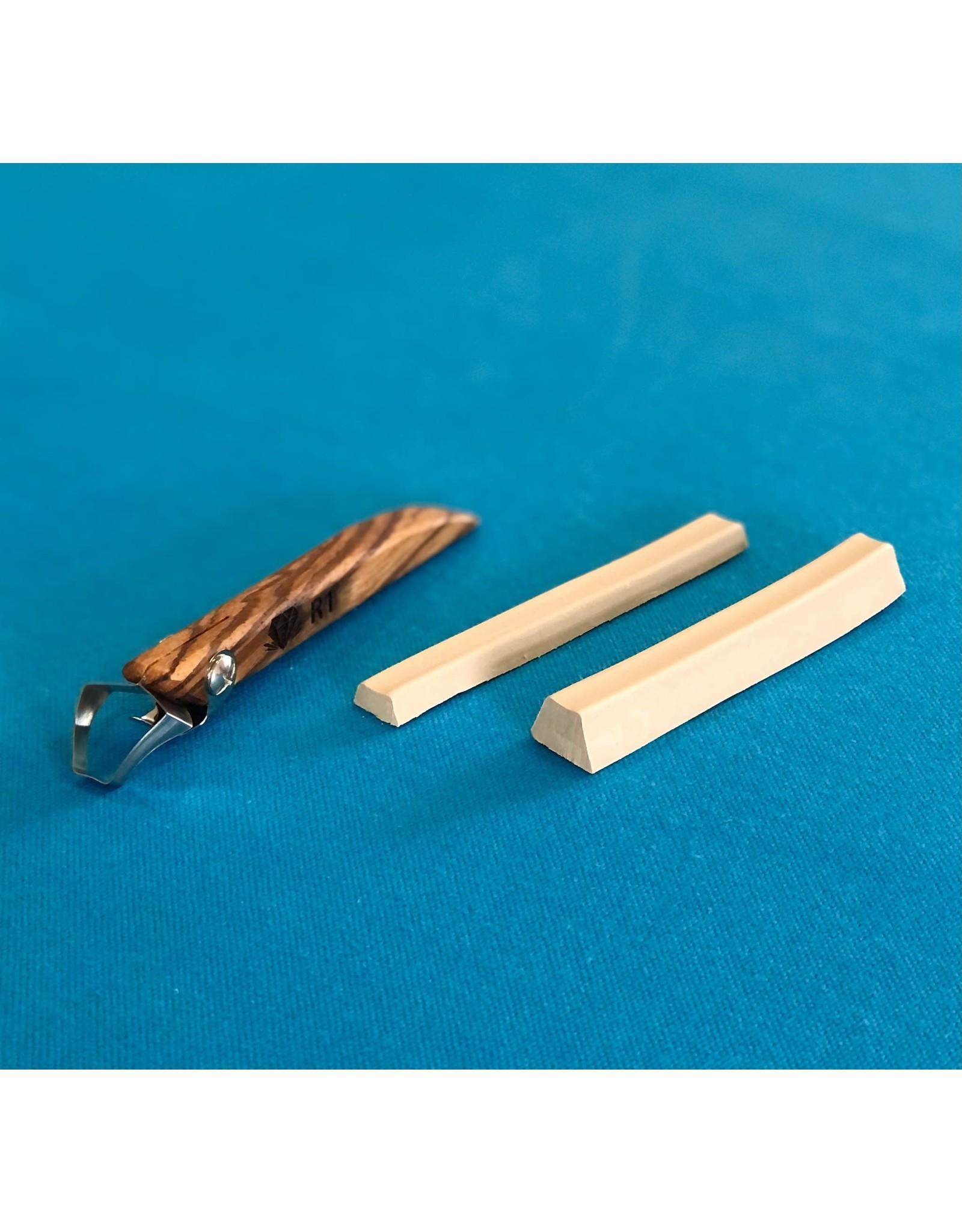 Diamond Core Tools (R1) Trapazoid  Handheld Clay Extruder