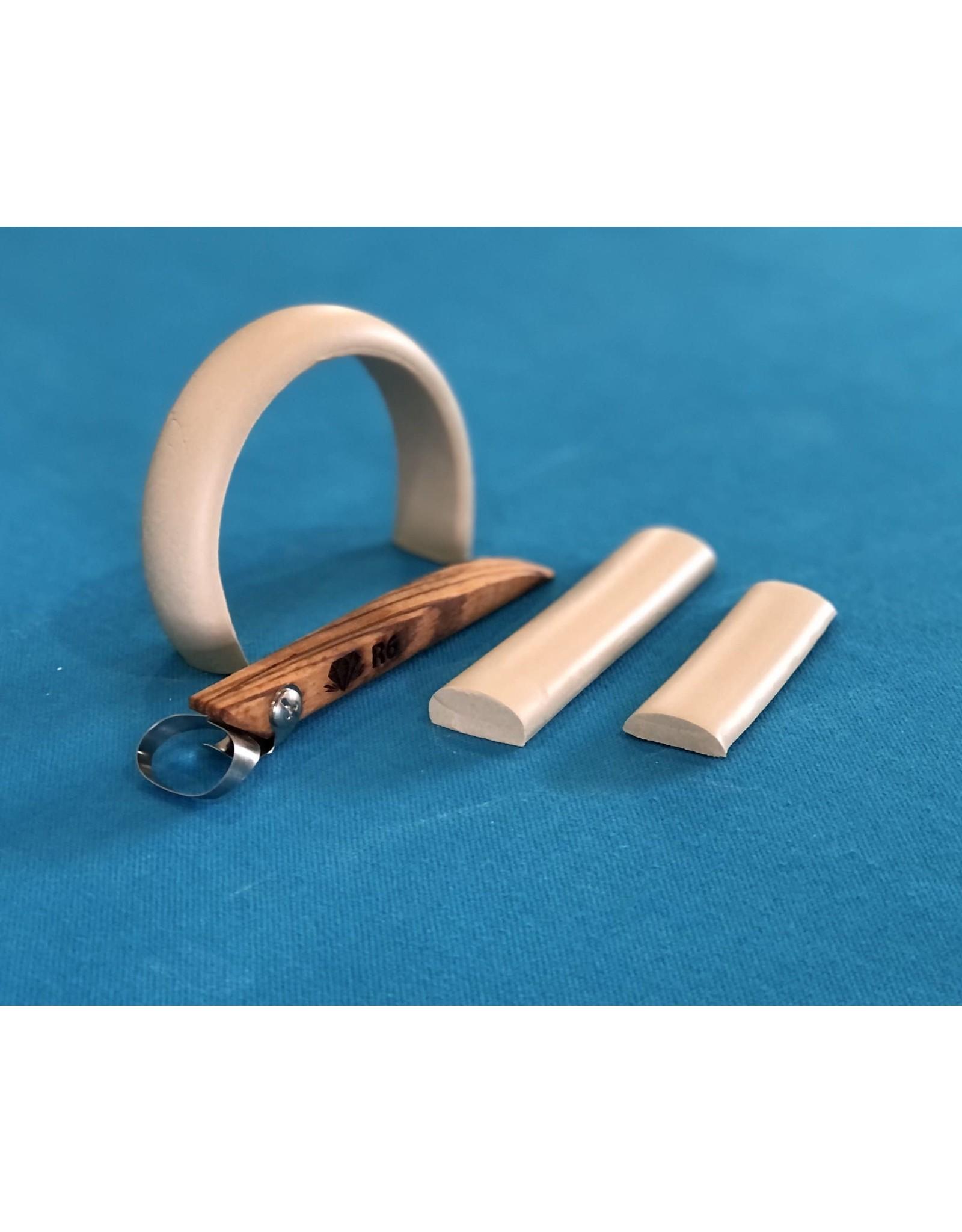 Diamondcore Tools (R6) Basic Oval Handheld Clay Extruder