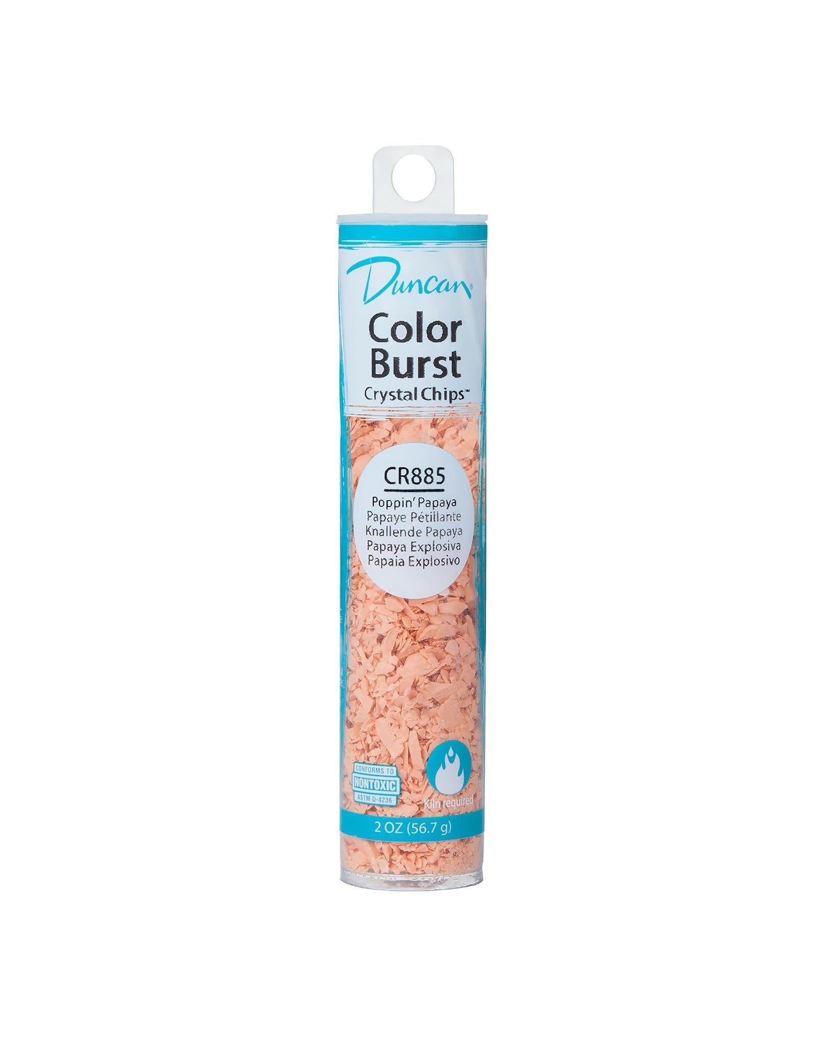 Duncan Poppin' Papaya Colour Burst Crystal Chips