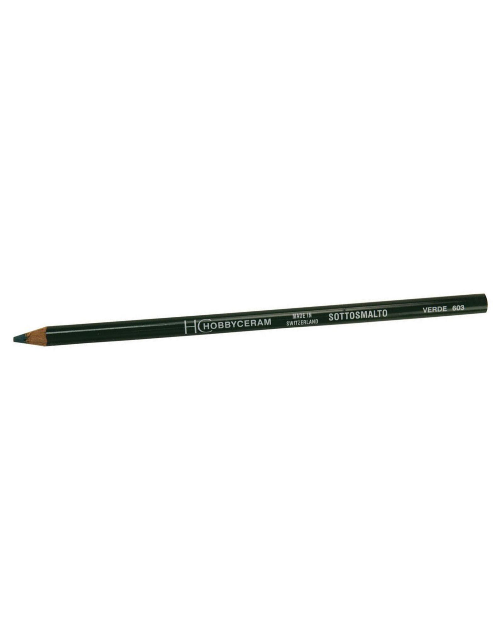 Underglaze Pencil (available in 12 colours)