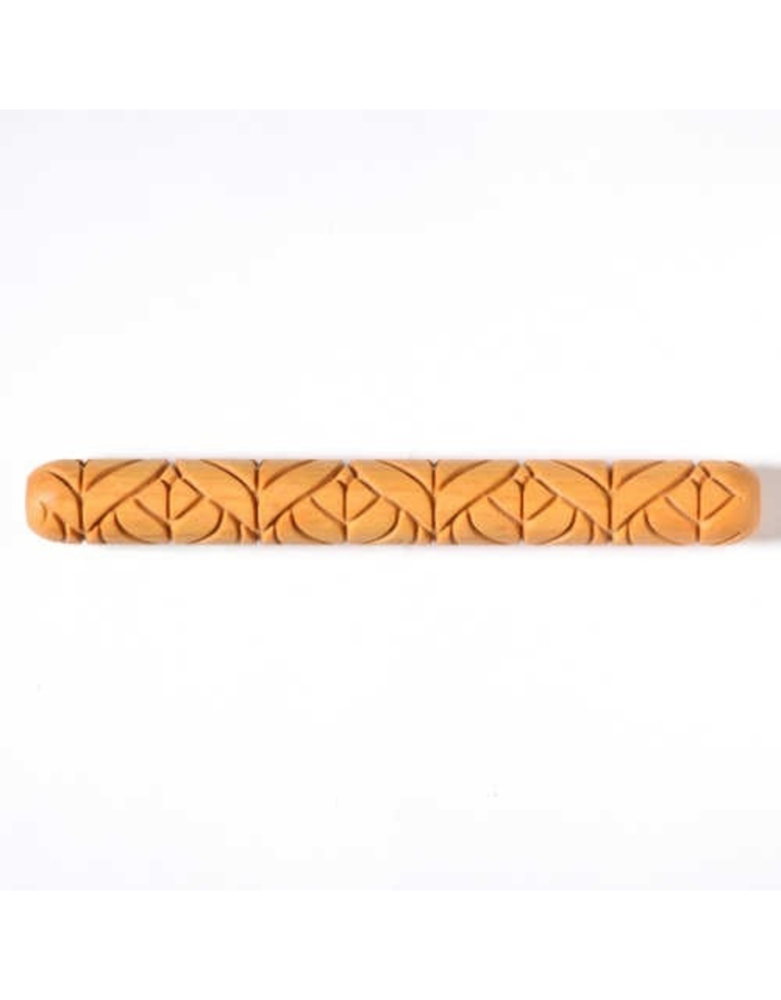 MKM tools Art Nouveau Leaf pattern Long Handroller