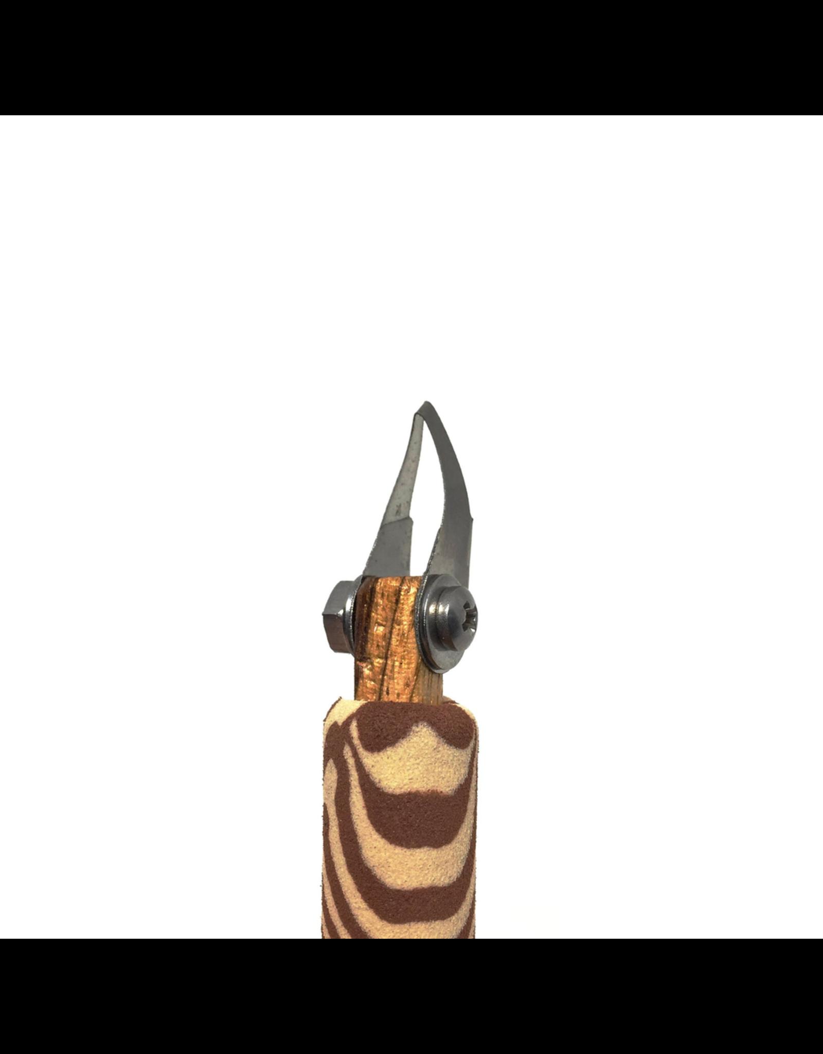 Diamondcore Tools Curved V-Tip Palm Carver (P8)
