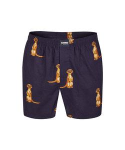 Happy Shorts Wijde Boxershort Stokstaartje