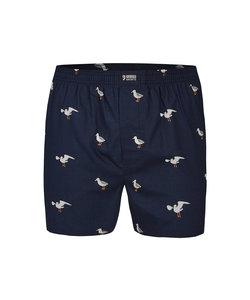 Happy Shorts Wijde Boxershort Zeemeeuw
