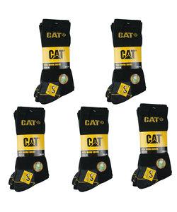 CAT Werksokken Zwart - 15 paar
