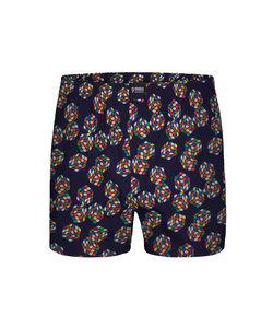 Happy Shorts Wijde Boxershort Rubiks Kubus