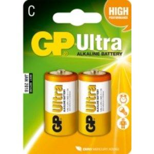 Gp Alkaline Batterijen Engels R14