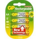 Gp Penlite Rechargeable 2600Mah 4 Stuks
