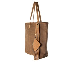 Farah leather shopper