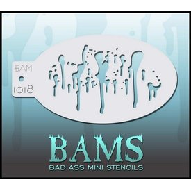 Badass Stencils Bam1018