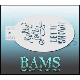 Badass Stencils BamH08