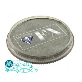 DiamondFX Face-art Metallics Silver mm1200