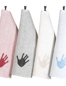 Klässbols Linneväveri Klässbols – Handdoek Handduken – Limegroen – 35 x 50 cm