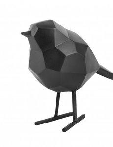 Present Time Present Time statue Bird small - Matt Black