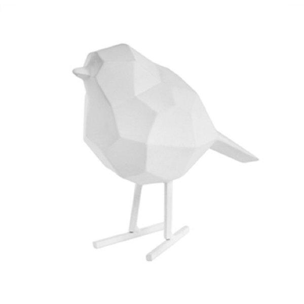 Present Time Present Time Statue Bird small - Matt White