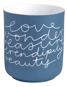 Räder Räder -  Poetry light - Love Wonder, medium Ø 9cm hoogte 10,5cm