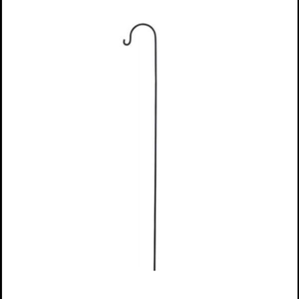 Räder Räder - Metalen lantaarnstaaf voor buiten - zwart 100cm