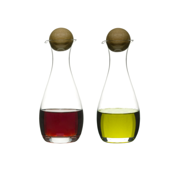 Sagaform Sagaform - Nature - Olie en azijn stelletje met eiken stopper