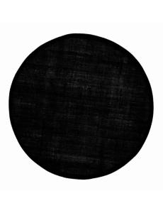 Dixie Dixie linnen placemat rond - zwart - Ø 38cm