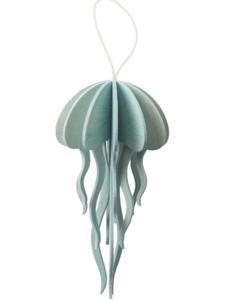 Lovi Lovi Jellyfish 12 cm Lichtblauw Berkenhout
