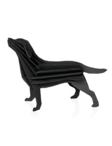 Lovi Lovi Labrador 15 cm Zwart Berkenhout
