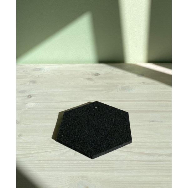 Verso Design Verso Design - KENNO Trivet - Donkergrijs wol vilt Ø 18 cm