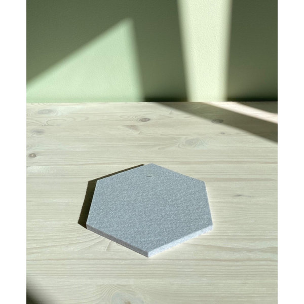 Verso Design Verso Design - KENNO Trivet - Zilvergrijs wol vilt Ø 18 cm