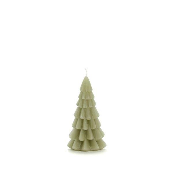 Rustik Lys Rustik Lys – Kerstboom kaars – Eucalyptus – 6x12cm
