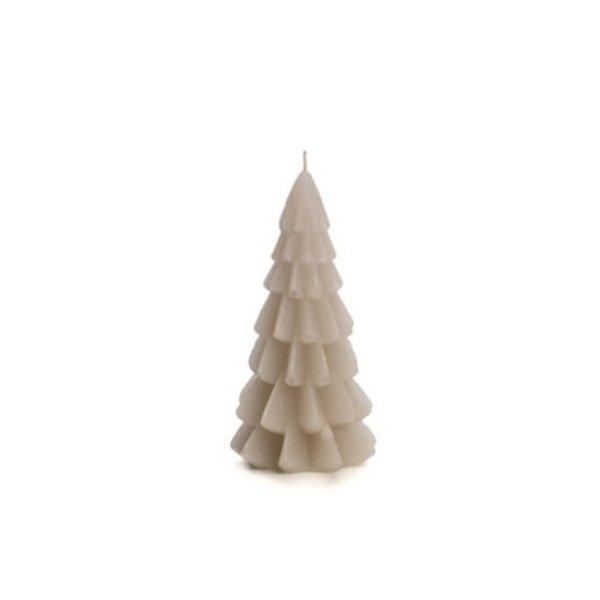 Rustik Lys Rustik Lys – Kerstboom kaars – Linnen – 6x12cm