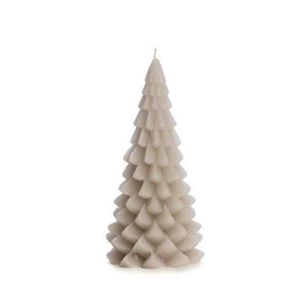 Rustik Lys Rustik Lys – Kerstboom kaars – Linnen – 10x20cm