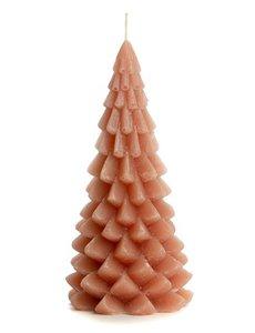 Rustik Lys Rustik Lys – Kerstboom kaars – Brique – 10x20cm