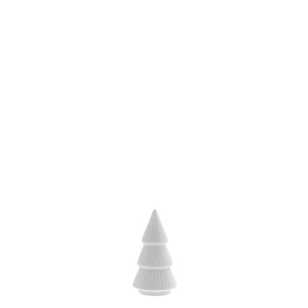 Storefactory Storefactory – Gransund Mini – Mat wit keramiek Sparrenboom