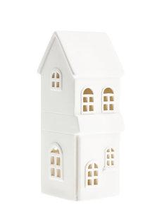 Storefactory Storefactory - Byn nr 5 – Mat wit keramiek huisje