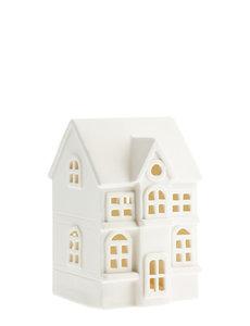 Storefactory Storefactory - Byn nr 1 – Mat wit keramiek huisje