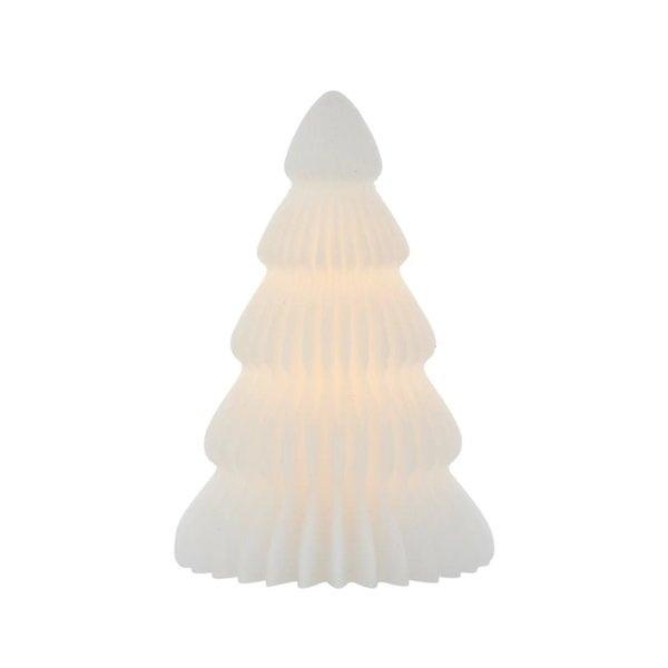 Sirius Sirius – Claire Christmas Tree, Ø11xH19cm, wit – (geschikt voor afstandsbediening)
