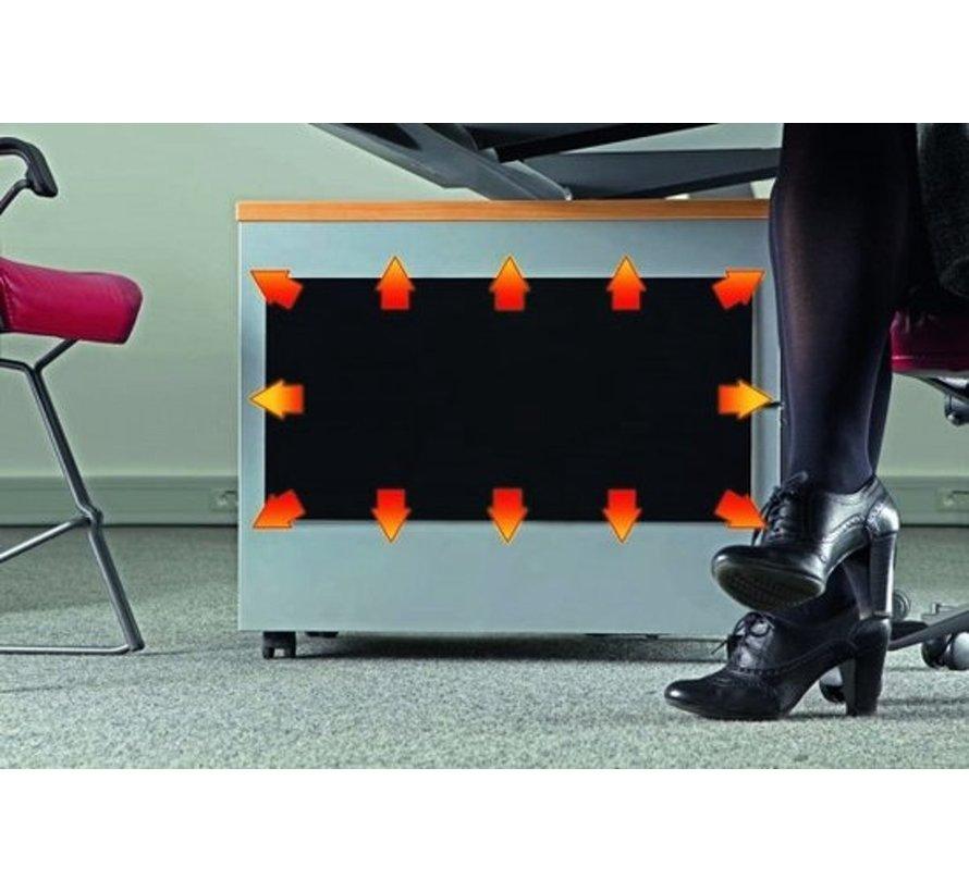 Fiber plaat bureau verwarming zelfplakkend inclusief dimmer