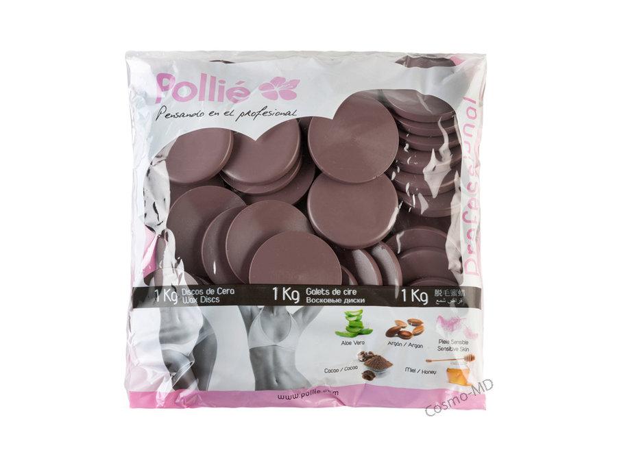 Hars schijfjes - Droge Huid - Chocolade - 1KG