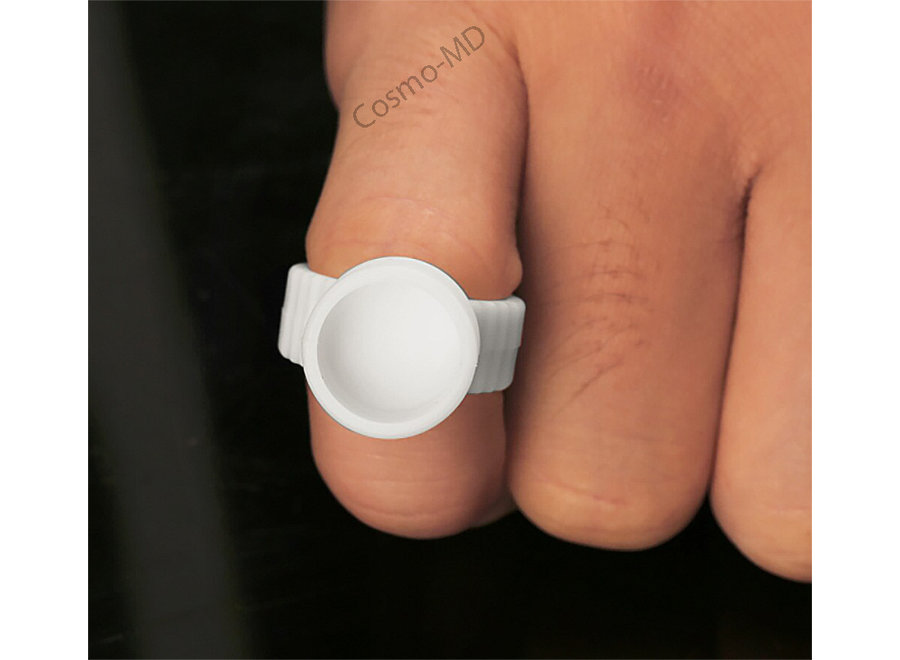 Finger Ring Ink Holders - 50 Pieces