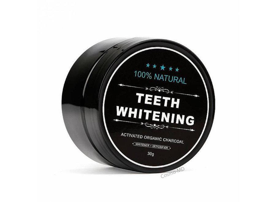 Teeth Whitening - ACTIVATED ORGANIC CHARCOAL - 1 Stuk