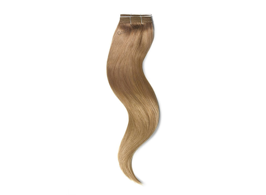 Haar extensions weave (steil) 50cm (110 gram)  - Kleur (#18) Lightest Brown