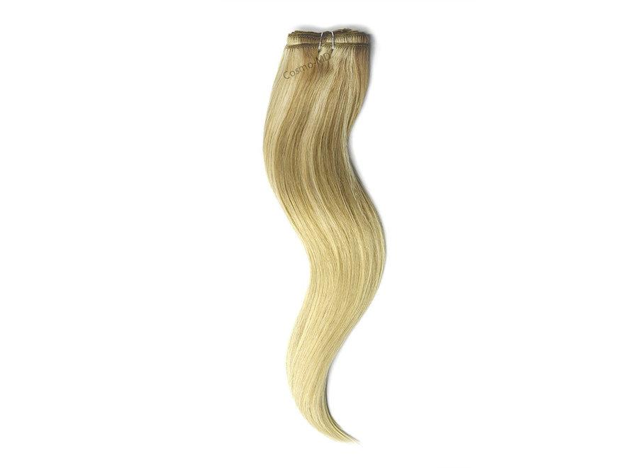 Haar extensions weave (steil) 45cm (110gram)- Kleur (#TP18/613) Ombre/Ombre