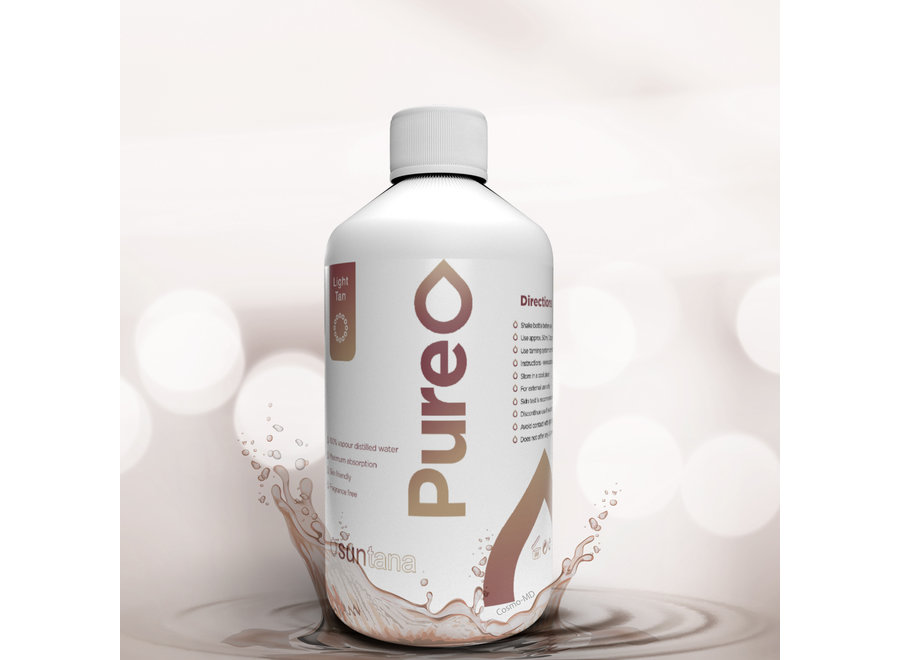 Suntana - Pure Tan - Light - 250 ml