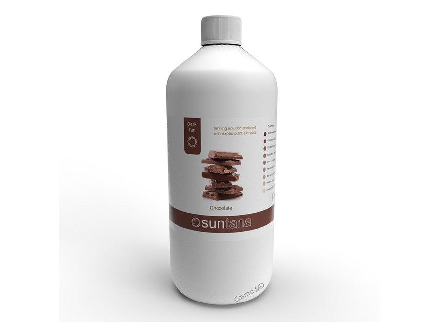 Spray Tan vloeistof - Suntana - Chocolate - 1000 ml