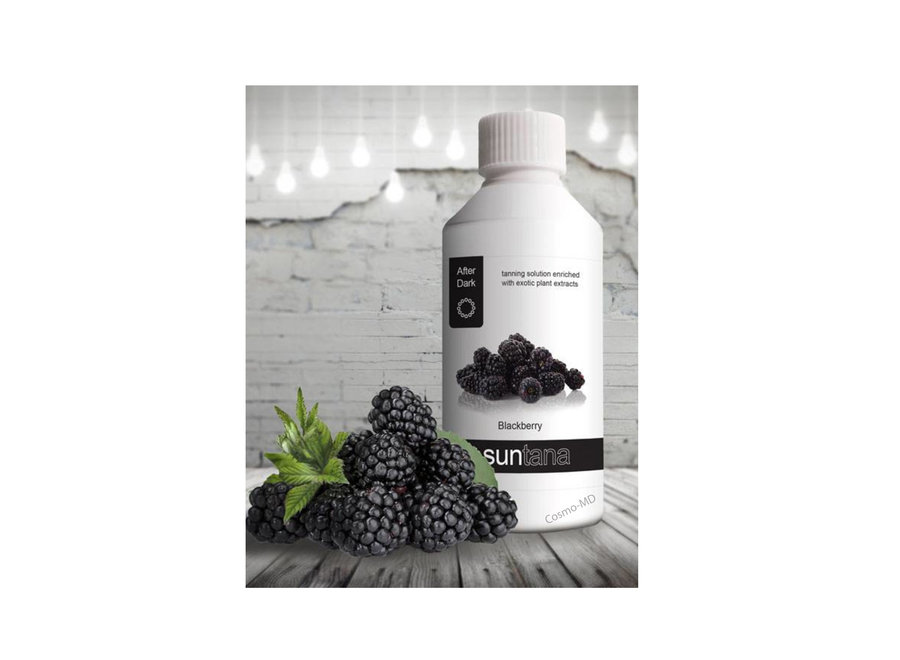 Spray Tan vloeistof - Suntana - Blackberry - 250 ml