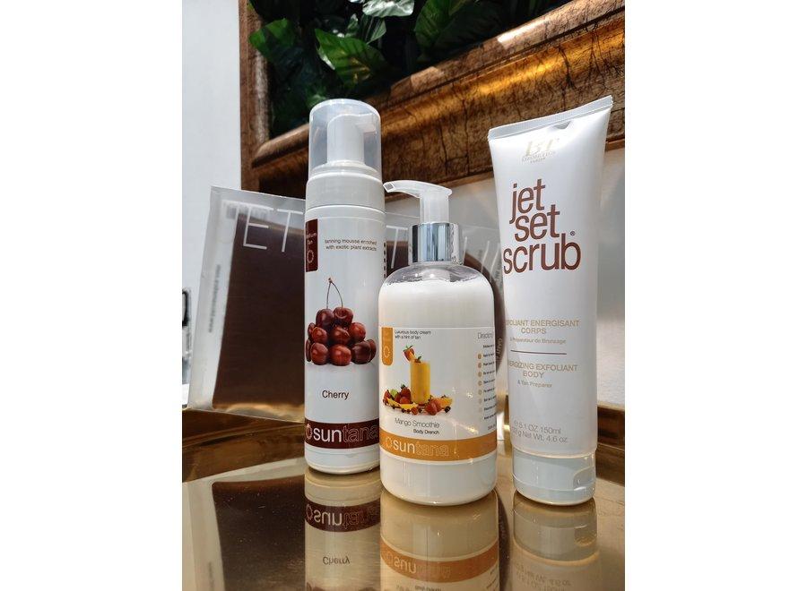 Spray  tan kit - zelfbruiner MediumTan Set - Self tan mousse Cherry