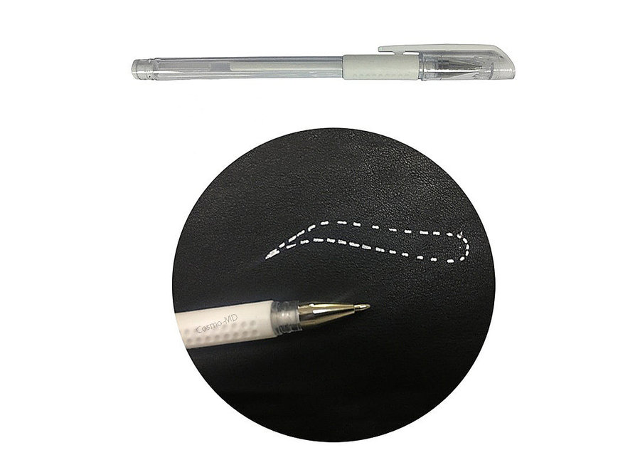 Permanente Make-up - Skin Marker Pen - Wit - 1 Stuk