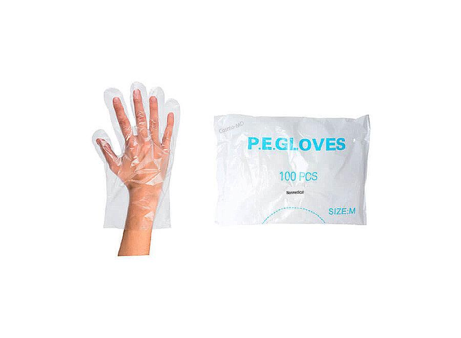 Paraffine Plastiek Beschermzakjes - Handen - 100 Stuks