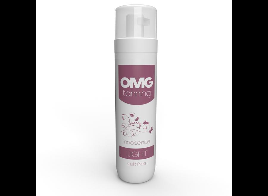 OMG Self Tanning Mousse – Innocence Light Tan - 200 ml