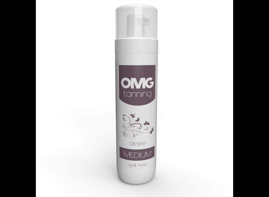OMG Spray Tanning Mousse – Desire Medium Tan - 200 ml
